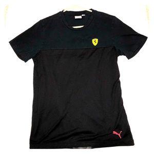 Puma and Ferrari scuderia calab! Beautiful piece!